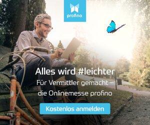 Die Online Messe für Vermittler: profino