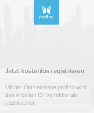 profino Online Messe für Vermittler