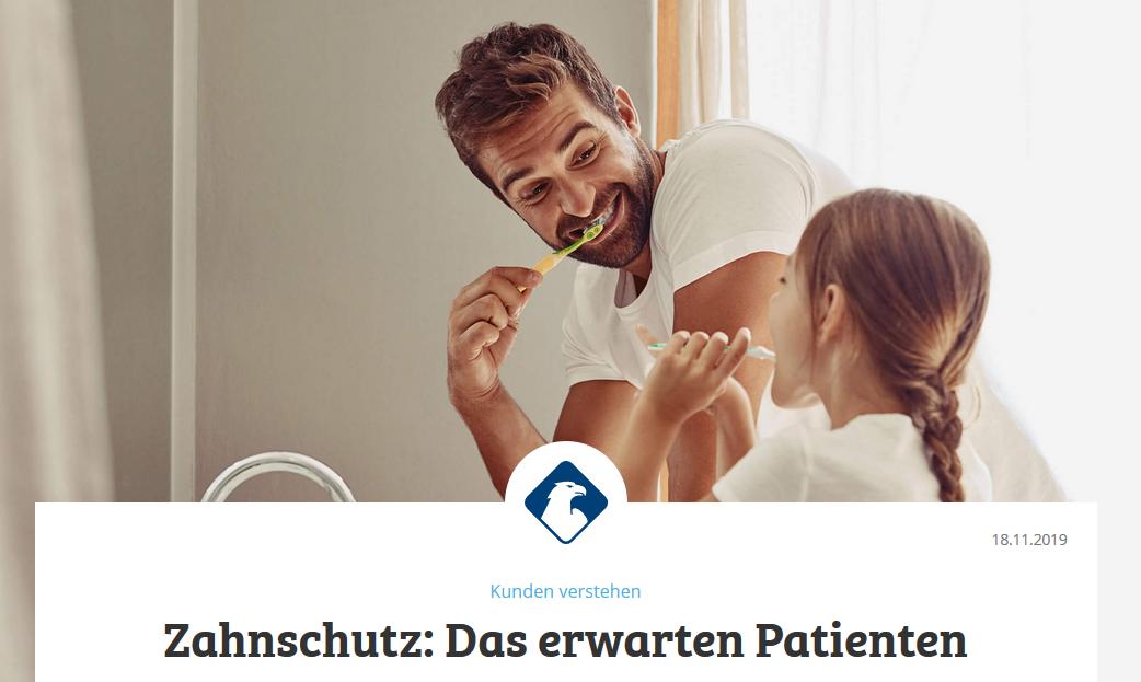 MaklerNews Zahnzusatzversicherungen: Was Patienten beim Thema Zahnschutz erwarten