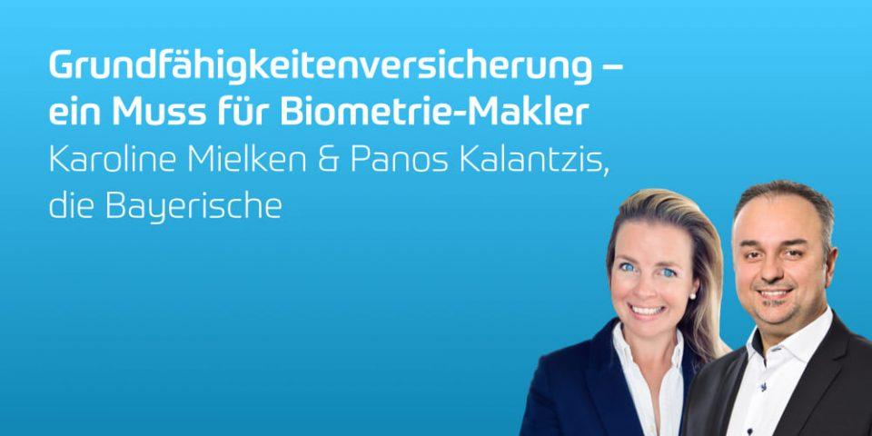 Die Bayerische Maklerschulung: Grundfähigkeitenversicherung – ein Muss für Biometrie-Makler
