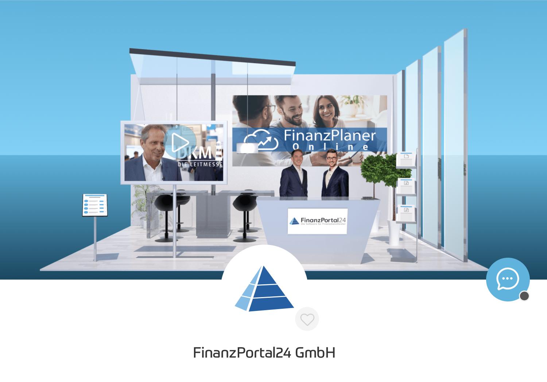 FinanzPortal24 Messestand